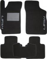 Коврики в салон для Lifan 320 '11- текстильные, черные (Люкс)