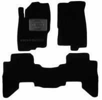 Коврики в салон для Nissan Pathfinder '11-14 текстильные, черные (Люкс)