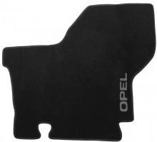 Фото 3 - Коврики в салон для Opel Movano '03-10 текстильные, черные (Люкс)