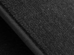 Фото 5 - Коврики в салон для Chrysler Sebring '01-10 текстильные, черные (Люкс)