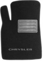 Фото 2 - Коврики в салон для Chrysler Sebring '01-10 текстильные, черные (Люкс)