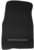 Фото 3 - Коврики в салон для Chrysler Sebring '01-10 текстильные, черные (Люкс)