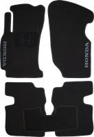Коврики в салон для Honda HR-V '98-05, 5 дв. текстильные, черные (Люкс)