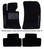 Коврики в салон для Hyundai Equus '10- текстильные, черные (Люкс)
