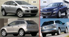 Противотуманная фара для Mazda CX-7 '06-12 правая (DEPO) EH4451680B
