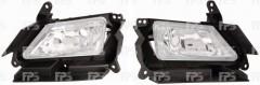 Противотуманная фара для Mazda 3 '09-13 EUR левая электрическая (DEPO) BBP251690B