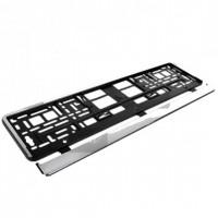 Рамка номера хром HP EL 100 586