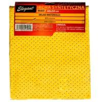 Салфетка для мойки синтетическая Elegant 40x50 см, желтая