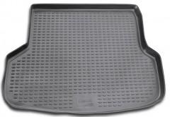 Коврик в багажник для Mitsubishi Lancer 9 (IX) '04-09 универсал, полиуретановый (Novline / Element) черный