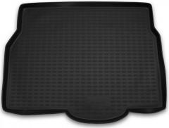 Коврик в багажник для Opel Astra H '04-15, хетчбэк, полиуретановый (Novline / Element) черный