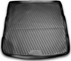 Коврик в багажник для Opel Insignia '09- седан (полноразм. Запаска), полиуретановый (Novline / Element) черный