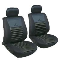 Универсальный набор чехлов на передние сиденья MILEX Tango с подогревом, черный