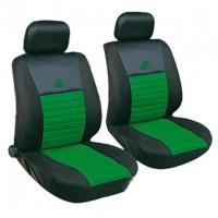 Универсальный набор чехлов на передние сиденья MILEX Tango, зеленый