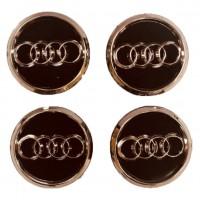 Колпачки на диски для Audi KOD 004 60*55 мм (4 шт.)
