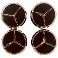Колпачки на диски для Mercedes KOD 004 60*55 мм (4 шт.)
