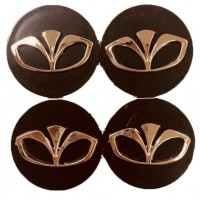 Колпачки на диски для Daewoo KOD 004 60*55 мм (4 шт.)
