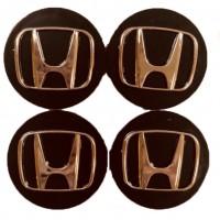 Колпачки на диски для Honda KOD 004 60*55 мм (4 шт.)