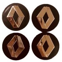 Колпачки на диски для Renault KOD 004 60*55 мм (4 шт.)