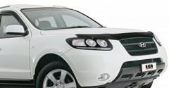 Дефлектор капота для Hyundai Santa Fe '06-12 CM (EGR)