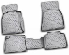 Коврики в салон для Lexus LS '06-17, 2WD, Short, полиуретановые (Novline / Element)
