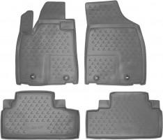 Коврики в салон для Lexus RX '12-15 полиуретановые, серые (Novline / Element)