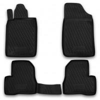 Коврики в салон для Peugeot 206 '98-09 полиуретановые, черные (Novline / Element) EXP.CARPGT00007