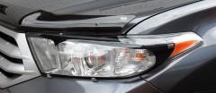 Защита фар для Toyota Highlander '10-13 прозрачная 2 шт (EGR)