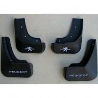 Брызговики для Peugeot 2008 '13-19 полиуретановые, полный комплект (ASP)