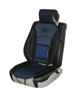 Накидка на сиденье MF 1007/CN 12527 BK/BL 07  чёрно-синяя
