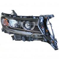 Передние фары для Toyota LC Prado 150 '18- LED, стиль ZW (ASP)