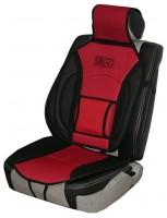 Накидка на сиденье MF 1007/CN 12527 BK/RD 07  чёрно-красная
