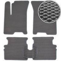 Коврики в салон для Chevrolet Aveo '04-11, EVA-полимерные, серые (Kinetic)