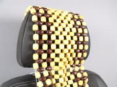 Фото 2 - Накидка на сиденье деревянная массажная AT2001RW