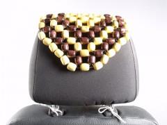 Фото 3 - Накидка на сиденье деревянная массажная AT2001RW