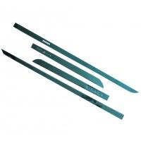 Накладки (молдинги) на дверь для Suzuki Vitara '15-, хром, SS, тип W, с лого (ASP)