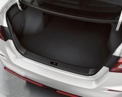 Фото товара 3 - Коврик в багажник для Volkswagen Atlas '17- короткий, текстильный, черный (Optimal)