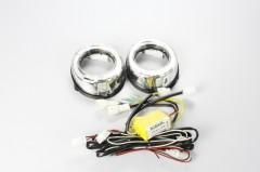 Дневные ходовые огни для Toyota Land Cruiser Prado 150 '10- V2 (LED-DRL)