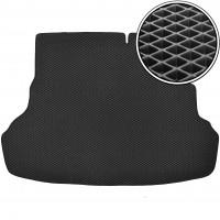 Kinetic Коврик в багажник для Hyundai Accent (Solaris) '11-17, седан, складывающееся зад. сидение, EVA-полимерный, черный (Kinetic)