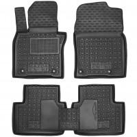 Коврики в салон для Mazda CX-30 '19- резиновые, черные (AVTO-Gumm)