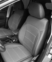Авточехлы Premium для салона Volkswagen Passat B5 '00-05, универсал, серая строчка (MW Brothers)