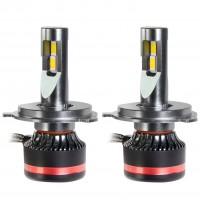"Фото товара 1 - Автомобильные лампочки H4/HB2 BI, 45 Вт, 5000К MLux LED ""Red Line"" (2 шт.)"
