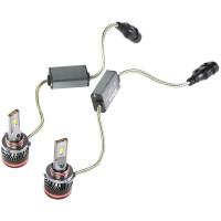 """Фото товара 6 - Автомобильные лампочки HВ3, 45 Вт, 4300К MLux LED """"Red Line"""" (2 шт.)"""