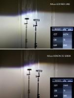 """Фото товара 9 - Автомобильные лампочки HВ3, 45 Вт, 4300К MLux LED """"Red Line"""" (2 шт.)"""