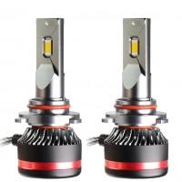 """Фото товара 1 - Автомобильные лампочки HВ3, 45 Вт, 5000К MLux LED """"Red Line"""" (2 шт.)"""