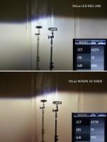 """Фото товара 10 - Автомобильные лампочки HВ3, 45 Вт, 5000К MLux LED """"Red Line"""" (2 шт.)"""