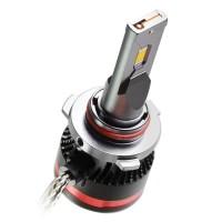 """Фото товара 5 - Автомобильные лампочки HВ3, 45 Вт, 5000К MLux LED """"Red Line"""" (2 шт.)"""