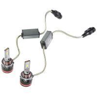 """Фото товара 6 - Автомобильные лампочки HВ3, 45 Вт, 5000К MLux LED """"Red Line"""" (2 шт.)"""