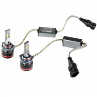"Фото товара 6 - Автомобильные лампочки HIR2, 45 Вт, 5000К MLux LED ""Red Line"" (2 шт.)"