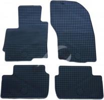 Коврики в салон для Mitsubishi ASX '10- резиновые, черные (Doma)
