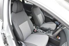 Авточехлы Premium для салона Hyundai i30 FL '13-16 серая строчка (MW Brothers)